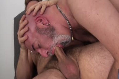 Sam black pounds Bald Daddy Rob Foster