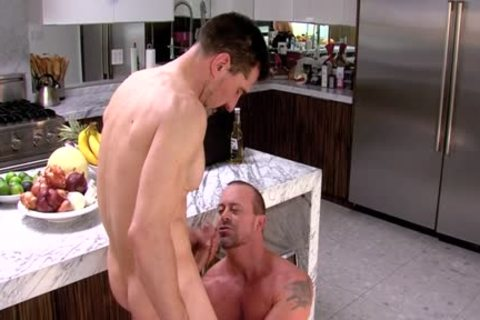 cum covered Buff gay plow