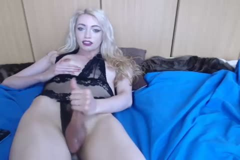 marvelous English Trans Cums On cam