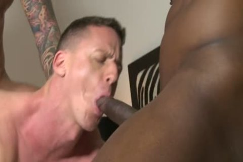Muscle bald threesome With cumshot - BoyFriendTVcom
