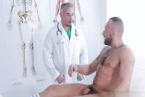 enormous cock Doctor anal-copulation With Facial