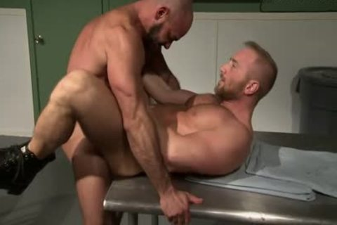 TRIAGE: Gio Forte & Kurt Weber: Muscle stud Dr. Patient Flip plowing